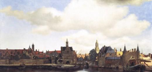 Vermeer's view on Delft