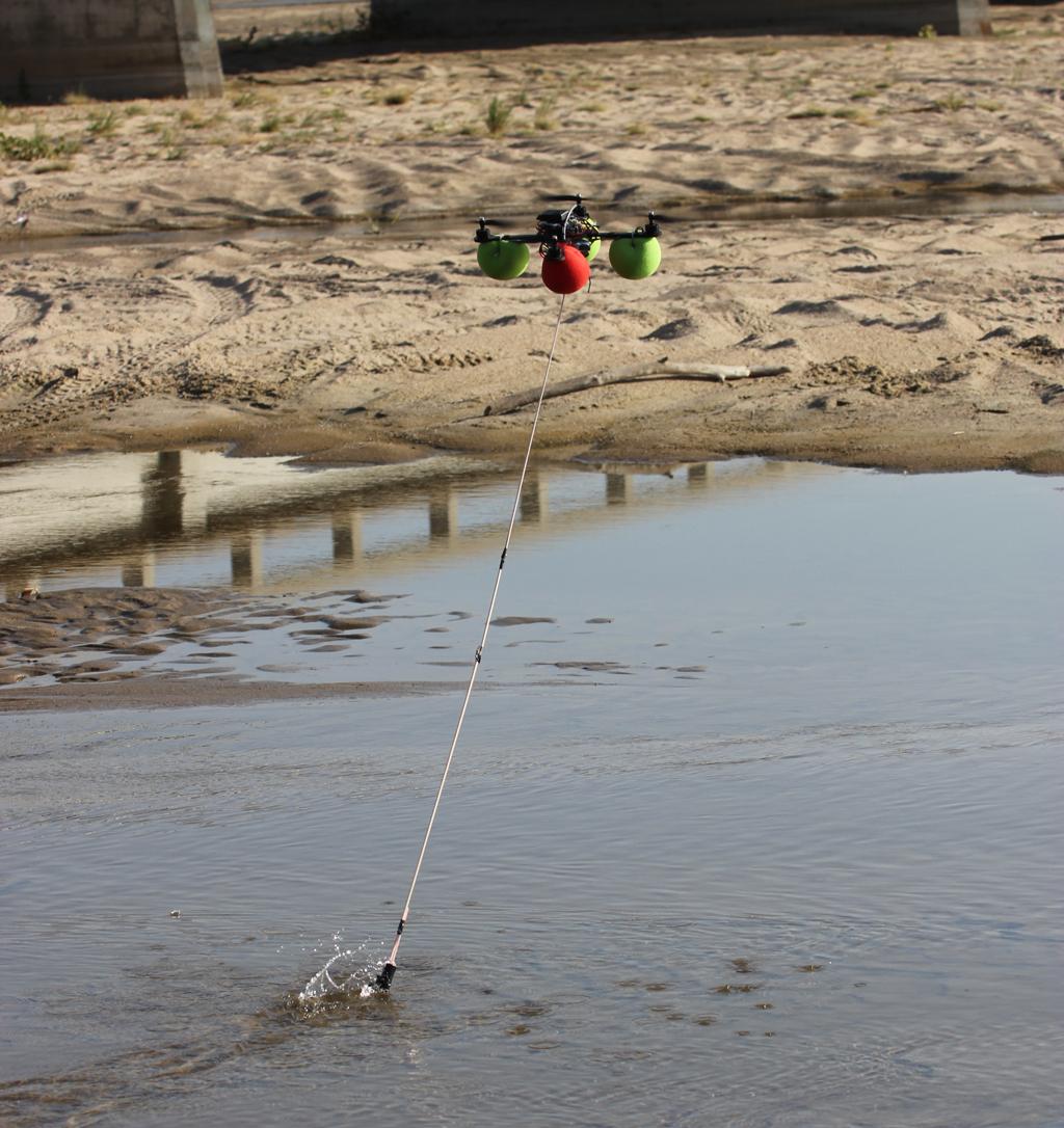 Environmental journalism: data gathering by drone