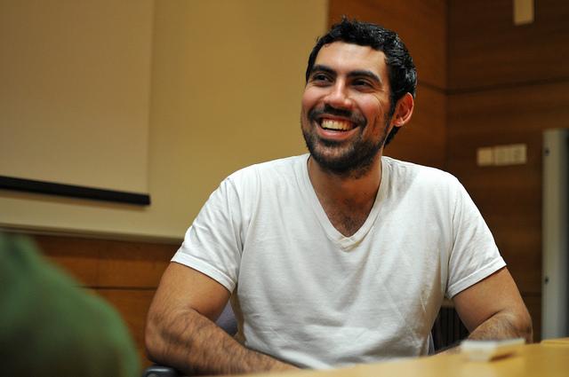 Samy Kamkar. Photo: Hugo Alexandre Cruz.